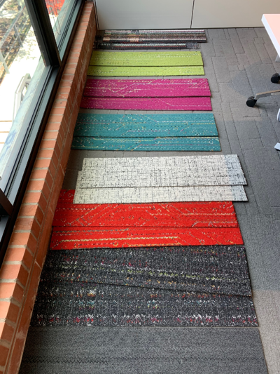 Huddle Rooms Carpet Samples