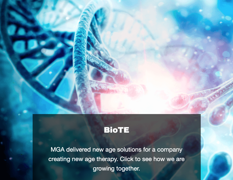 BIOTE - Landing Page Image