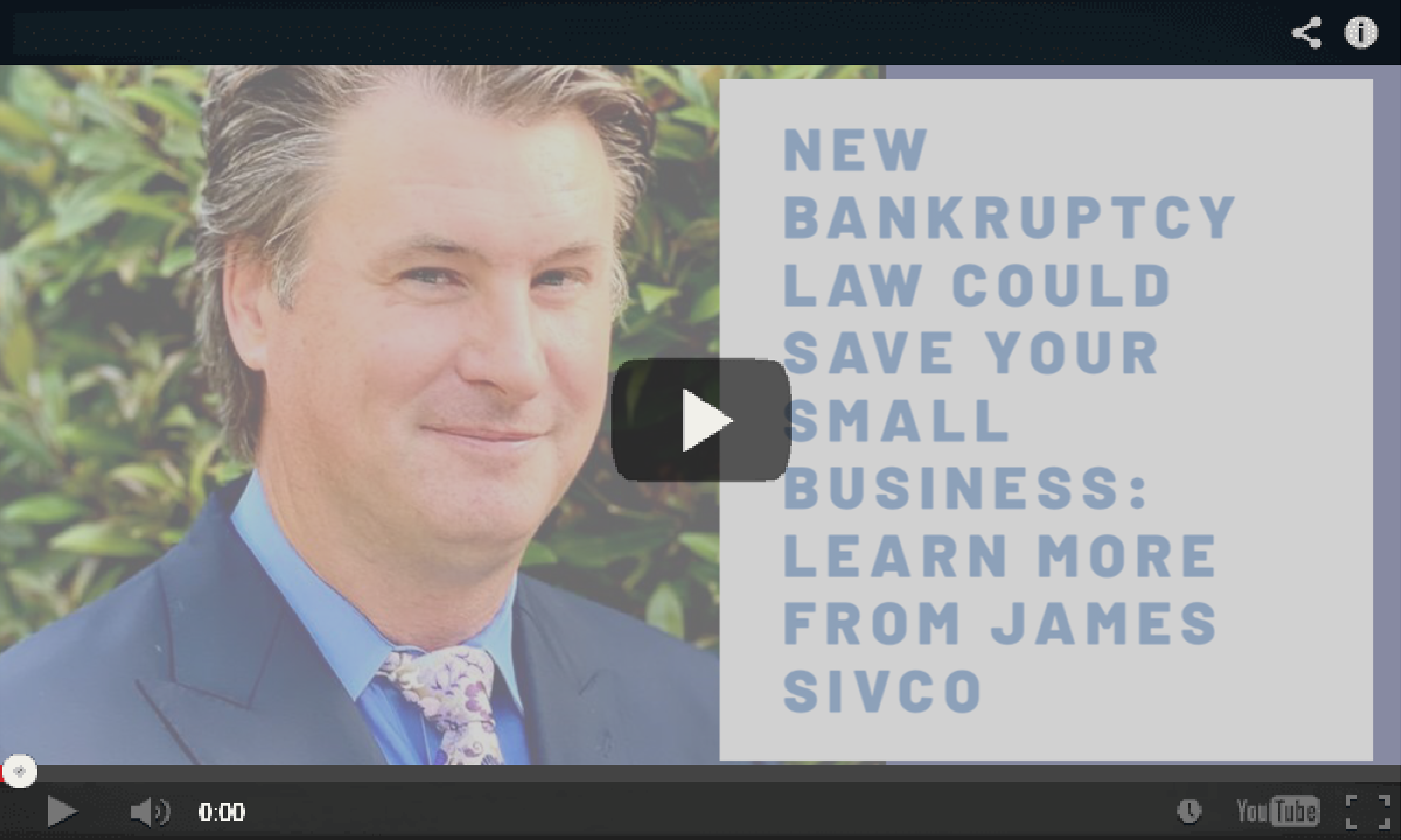 Bankruptcy Law Video-02