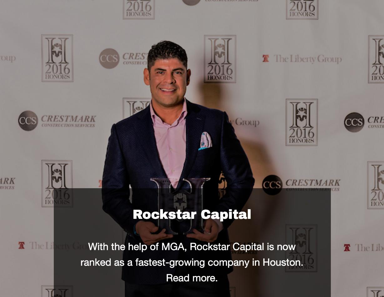 ROCKSTAR - Landing Page Image