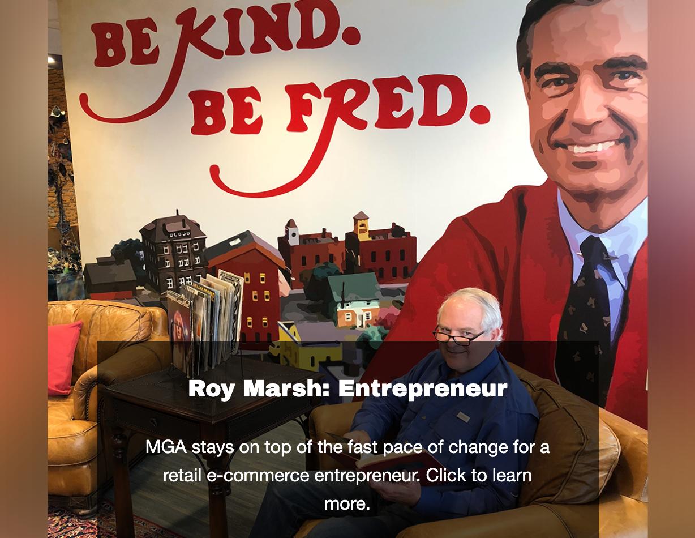 ROY MARSH - Landing Page Image