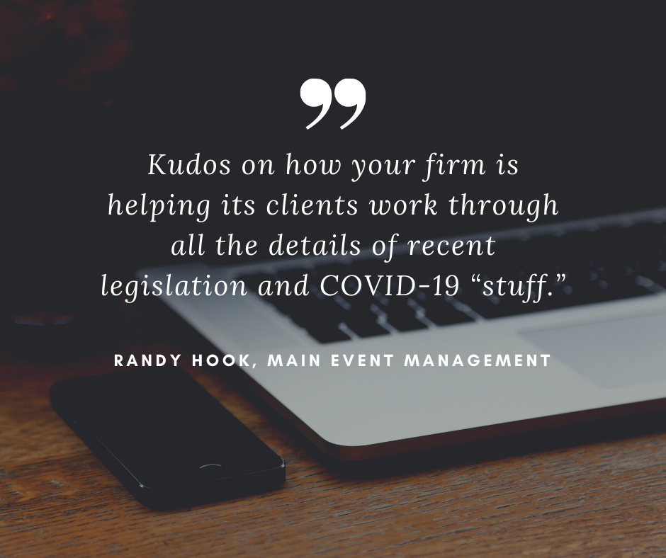 Randy Hook - Client Kudos